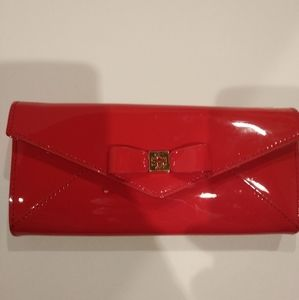 Tory Burch Envelope Continental Wallet with Bow